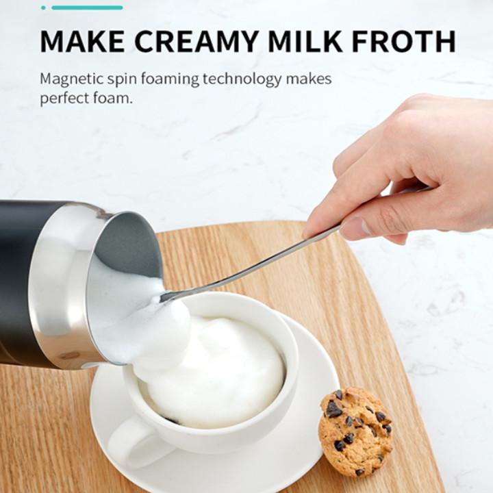 Máy đánh sữa tạo bọt cao cấp nhãn hiệu Shardor MF515B công suất 500W, dung tích 360ml - Hàng Nhập Khẩu