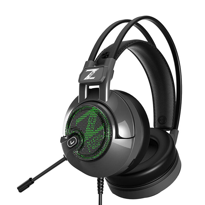 Tai nghe có dây Gaming Zidli ZH-V6Pro Black _ Hàng chính hãng