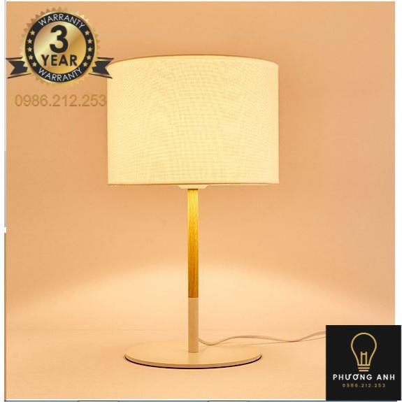 Đèn ngủ để bàn cao cấp trang trí nội thất phòng ngủ, dùng ánh sáng đọc sách sang trọng hiện đại
