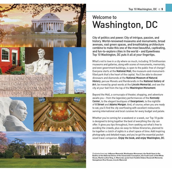 DK Eyewitness Top 10 Washington, DC