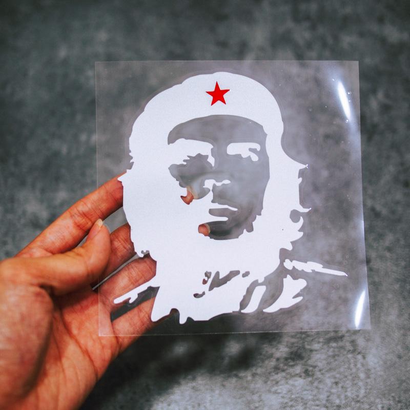 Sticker Transfer Che - TRẮNG