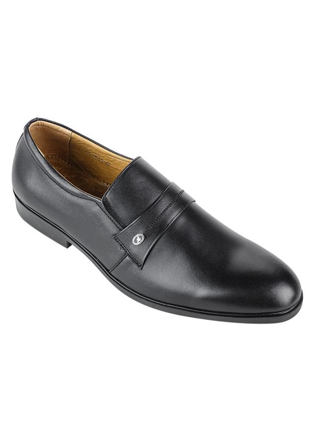 Giày Tây Nam Da Bò SUNPOLO SUKT0531D - Đen