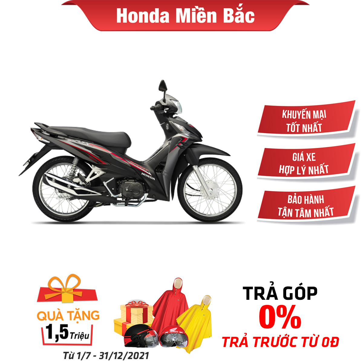 Xe máy Honda Wave RSX 110 Fi các phiên bản
