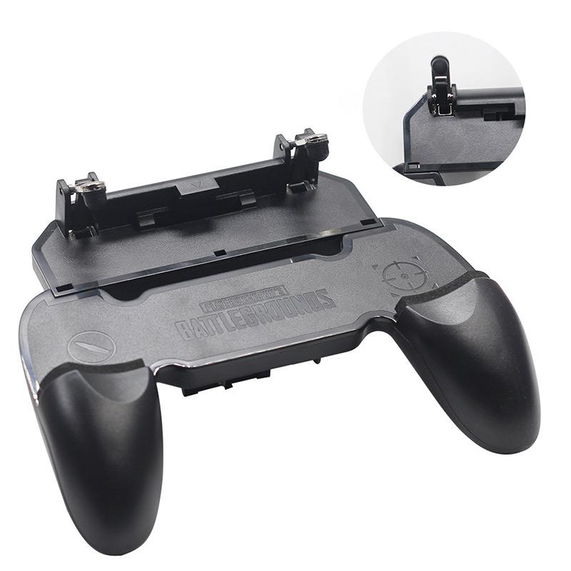 Bộ Tay cầm chơi game kèm nút bắn G Point các game Pubg mobile, Rules of Survival, Free Fire Promax W01 - Hàng chính hãng
