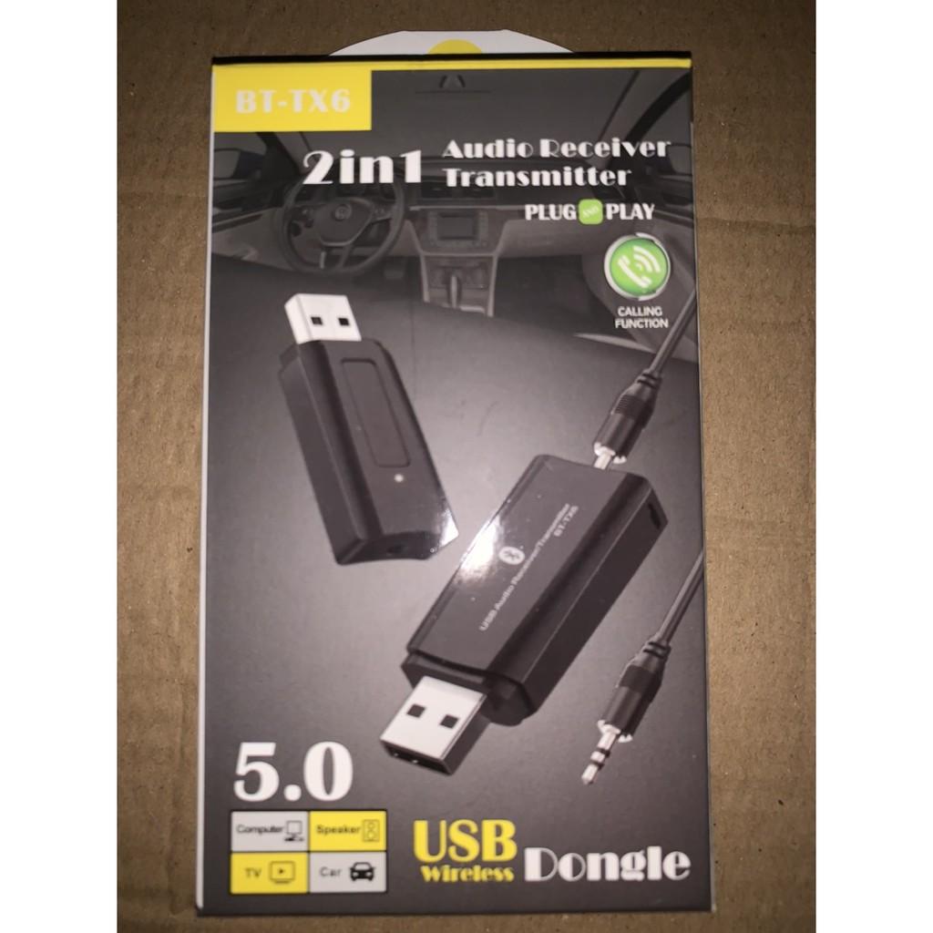 USB Bluetooth 5.0(2in1) BT-TX6,THIẾT BỊ THU & PHÁT BLUETOOTH,BLUETOOTH 5.0-HÀNG CHÍNH HÃNG