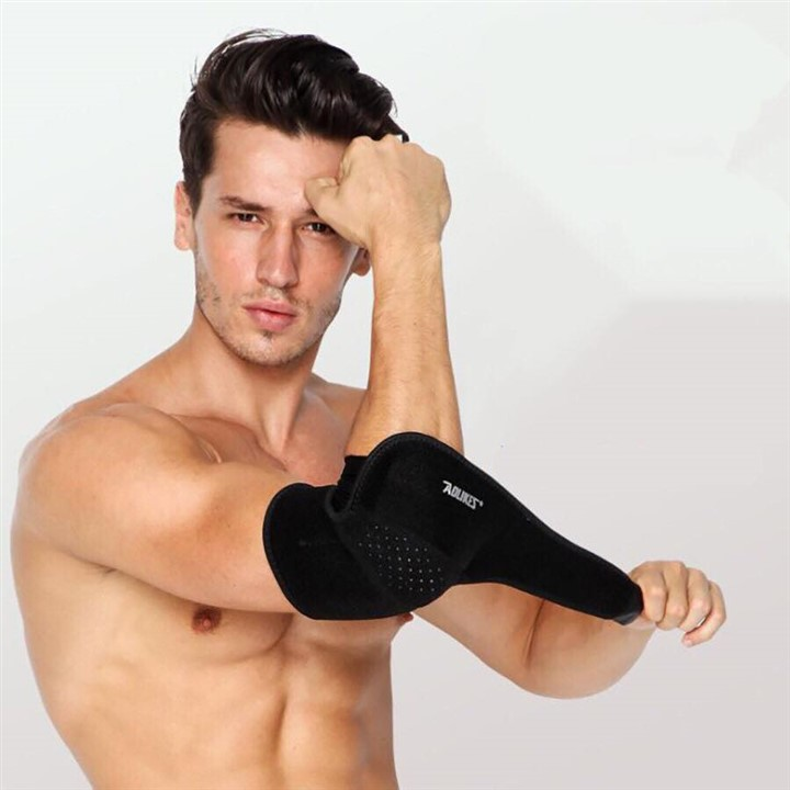 Đôi băng quấn bảo vệ khuỷu tay thể thao, phụ kiện gym cao cấp AolikesJK-05