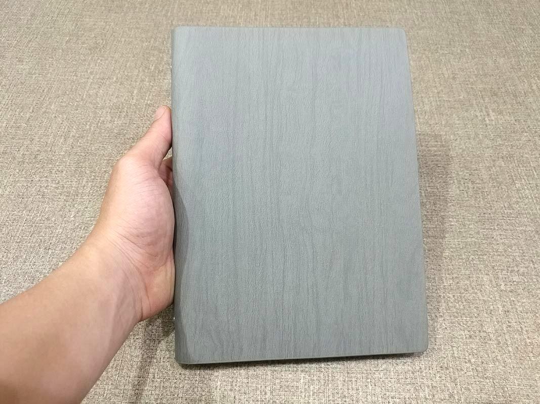 Sổ Bìa Da SC 05-19 - Màu Xám (Sắc Độ Màu Giao Ngẫu Nhiên)