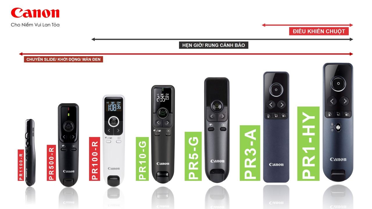 Bút trình chiếu Canon PR1100-R - Hàng chính hãng