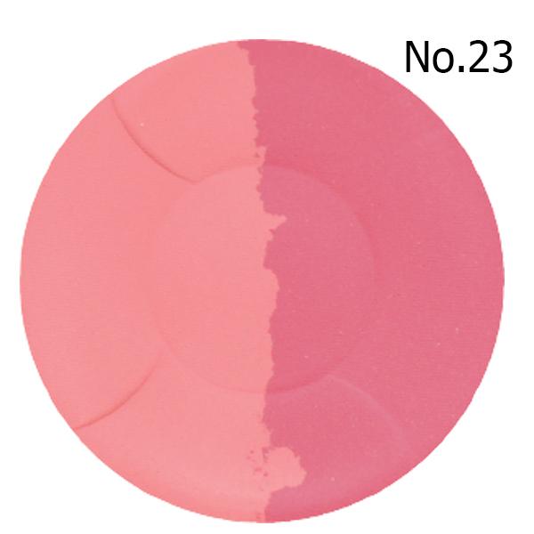 Phấn má hồng Mira Aroma Multi Blusher Hàn Quốc 13g No.23 # Cam nhẹ và đỏ hồng tặng kèm móc khoá