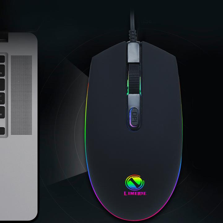 Chuột Game thủ LIMEIDE 007 LED RGB