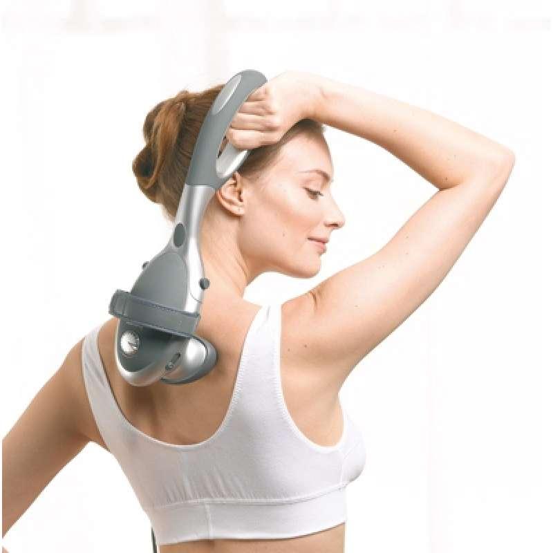Combo Máy Massage Cầm Tay Đèn Hồng Ngoại Beurer MG70 + Nhiệt Kế Điện Tử Đầu Mềm Medilife ( hình thú ngẫu nhiên )