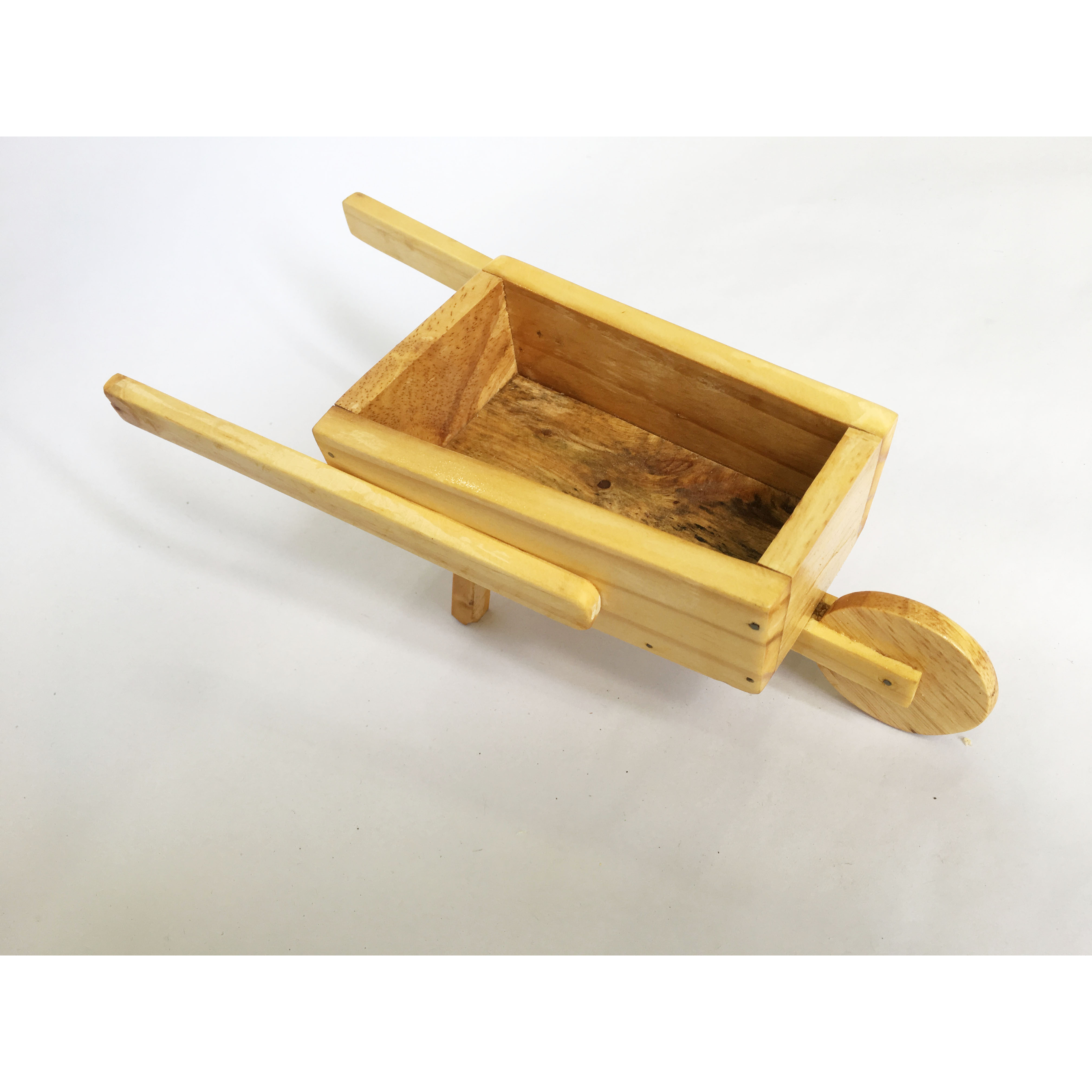 Xe rùa gỗ mini - phụ kiện trang trí đa năng