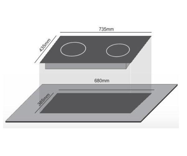 Bếp Điện 2 Từ Canaval CA-9919 Điều Khiển Cảm Ứng, Công Nghệ ECO Green, Inverter, Booster Đến 2800W - Hàng Chính Hãng