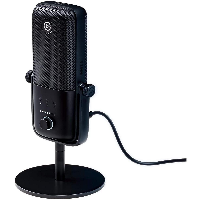 Thiết Bị Streaming Elgato Microphone Wave 3 - Hàng Chính Hãng