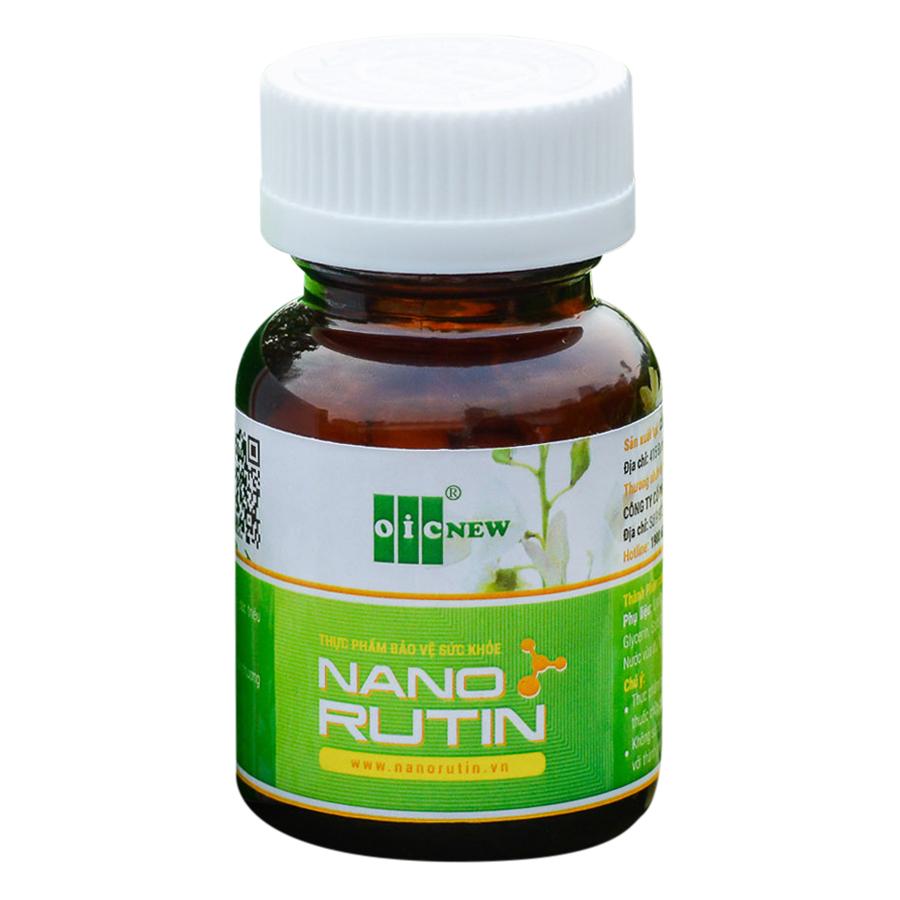 Thực phẩm bảo vệ sức khỏe Nano Rutin OIC