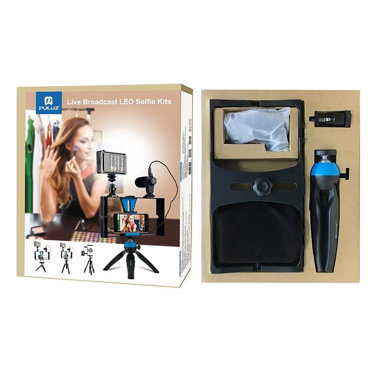 Combo quay phim 4 trong 1 cho điện thoại Puluz PKT3023 - Hàng chính hãng