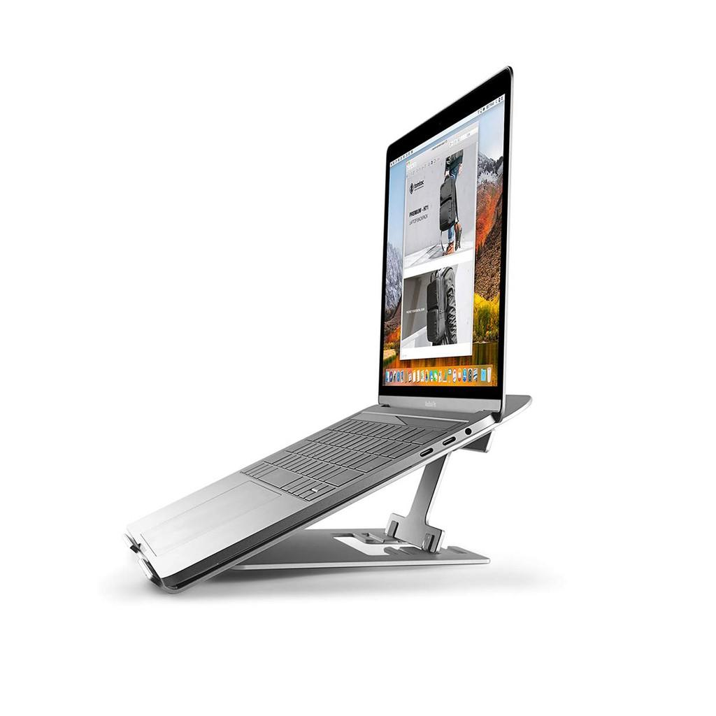 """Đế tản nhiệt Tomtoc Alumium Foldable for Macbook/Laptop 11"""" -15.6 inch"""