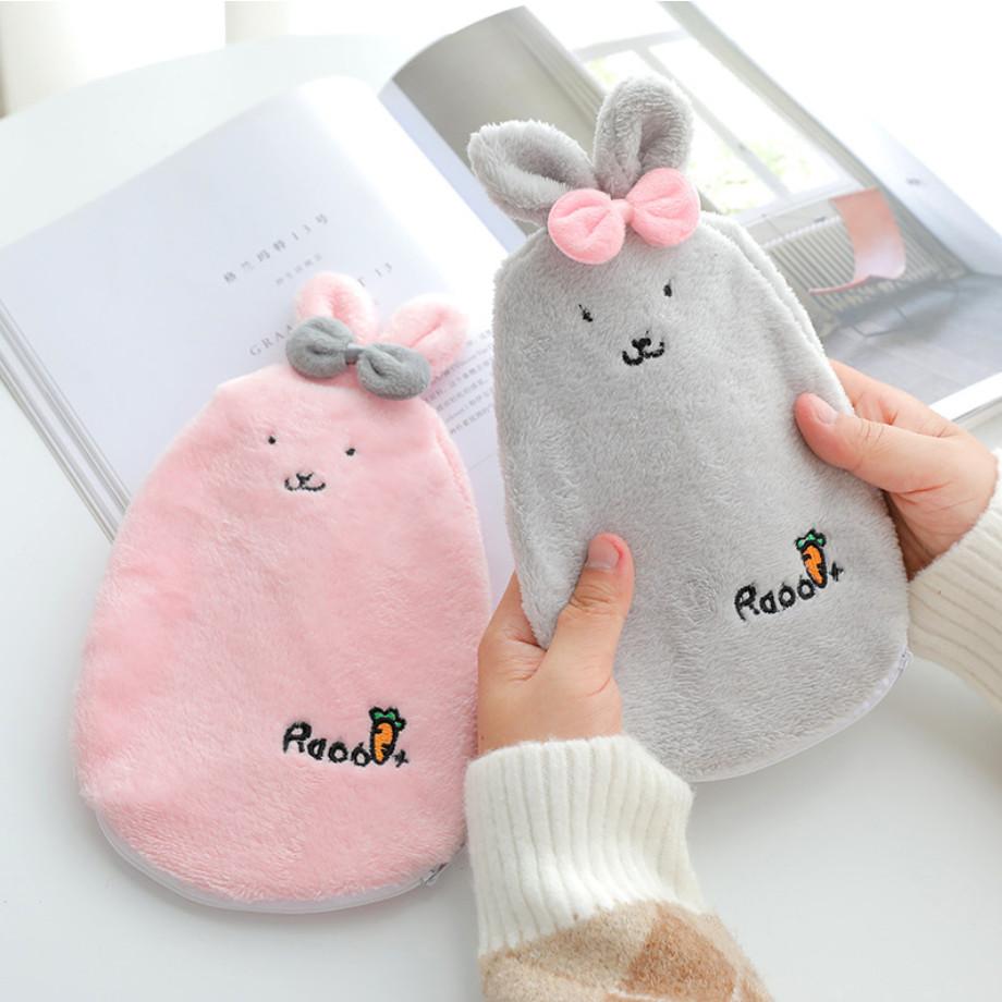 Combo 2 túi chườm thỏ xinh ( màu giao ngẫu nhiên )