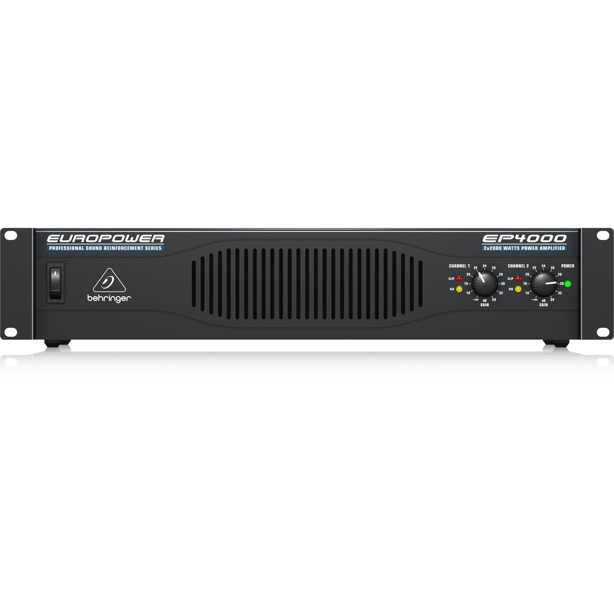 Behringer EUROPOWER EP4000- Power Amplifier-Hàng Chính Hãng