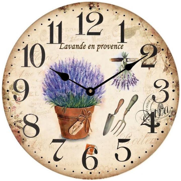 Đồng hồ treo tường phong cách cổ MS 41