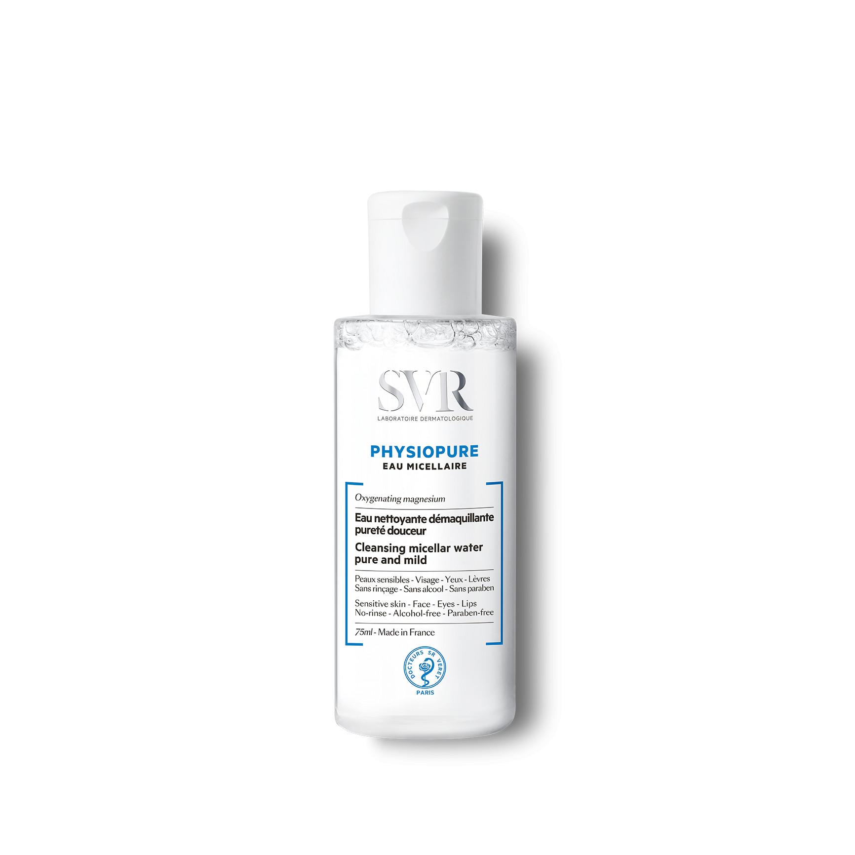 Nước tẩy trang cho da nhạy cảm SVR Physiopure Eau Micellaire (Nhập khẩu)
