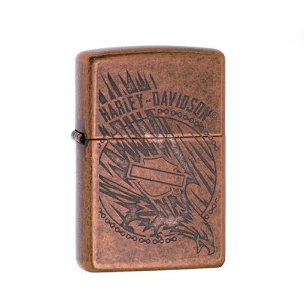 Bật Lửa Zippo 29664 – Zippo Harley-Davidson Antique Copper Eagle
