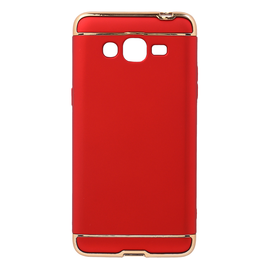 Ốp lưng dành cho Samsung J3 2017J320 ráp 3 mảnh - Sản phẩm có 4 màu - 1 Đỏ