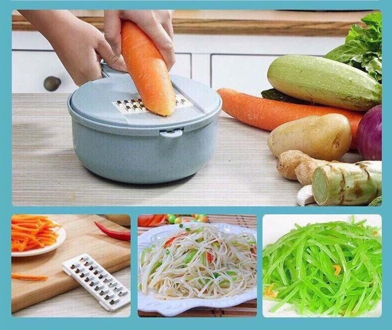 Bộ cắt nạo rau củ quả lúa mạch dùng gọt bào tất cả các loại rau củ quả rất tiện lợi và đa năng