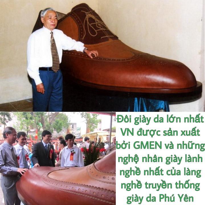 Giày da nam buộc dây chất liệu da thật nguyên tấm bảo hành 1 năm GM66