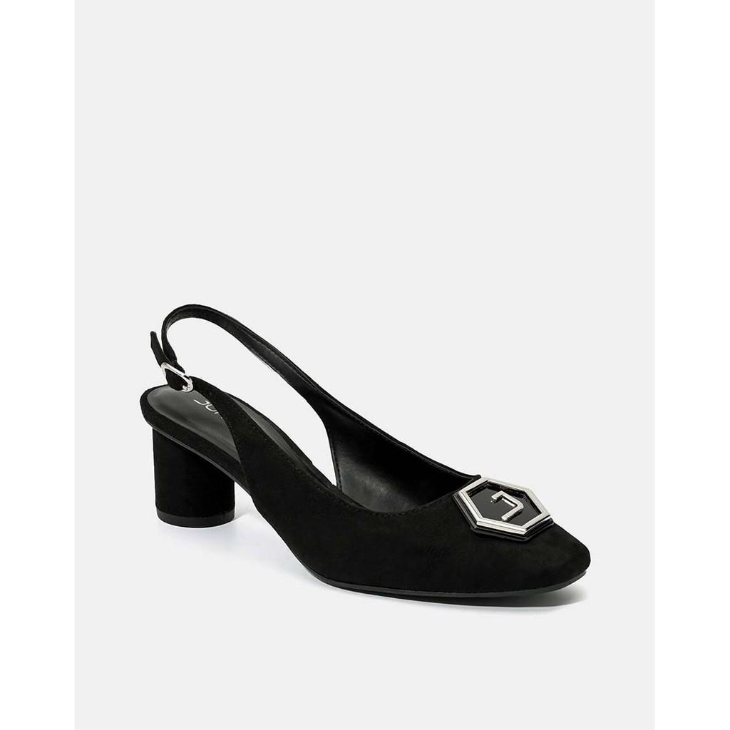 JUNO - Giày cao gót khóa trang trí lục giác - CG07093