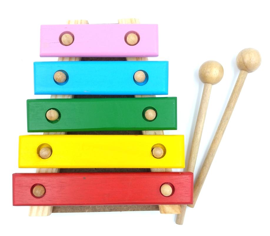 Đàn Xylophone Edugames 5 Thanh (Có Hộp)