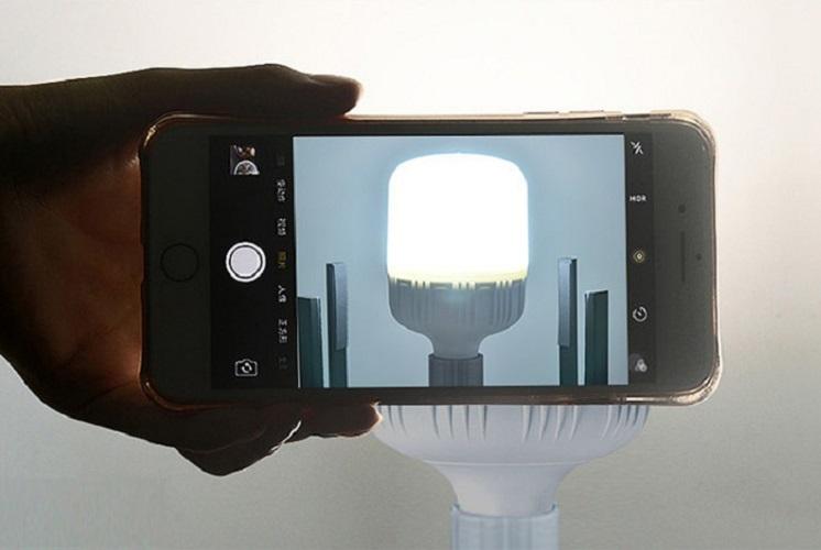 Bộ 3 bóng đèn led búp trụ 9w kín nước siêu bền