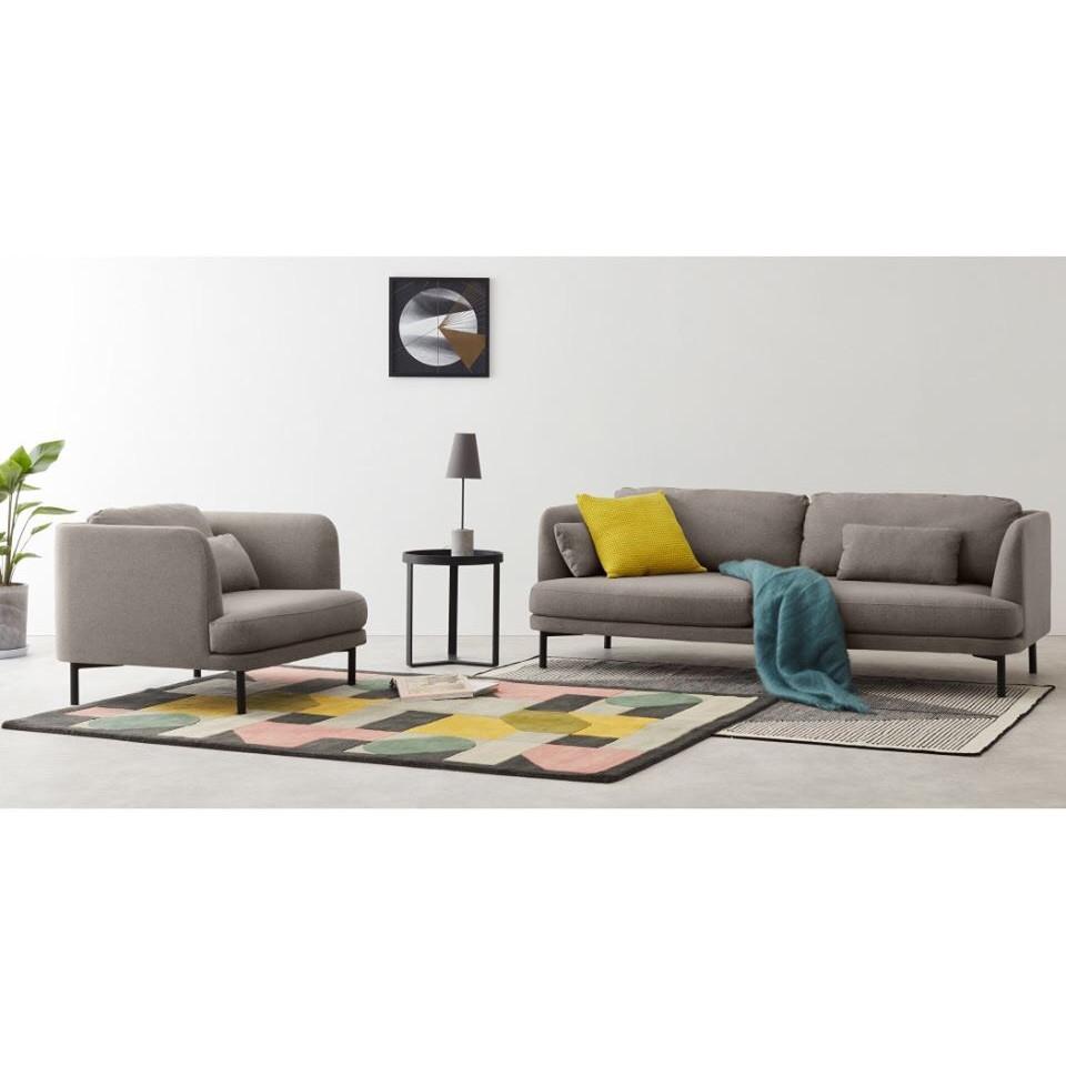Bộ sofa băng juno Sofa BabyShark 200 x 85 x 75 cm và ghế đơn