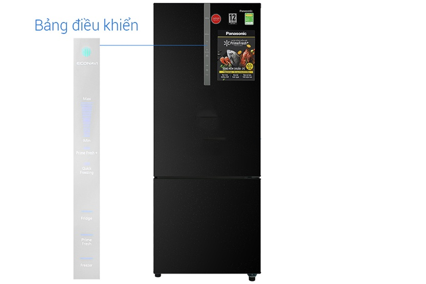 Tủ lạnh Panasonic Inverter 368 Lít NR-BX410QKVN - Hàng chính hãng (Chỉ giao tại Thái Bình)
