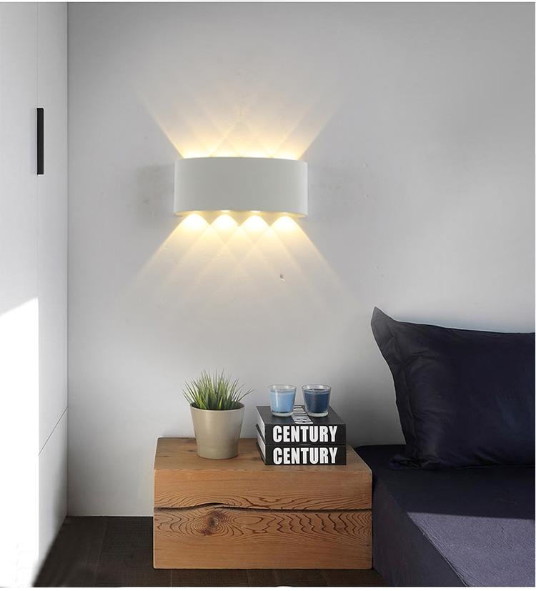 Đèn tường HEVEN trang trí nội thất hiện đại, sang trọng. - Trắng