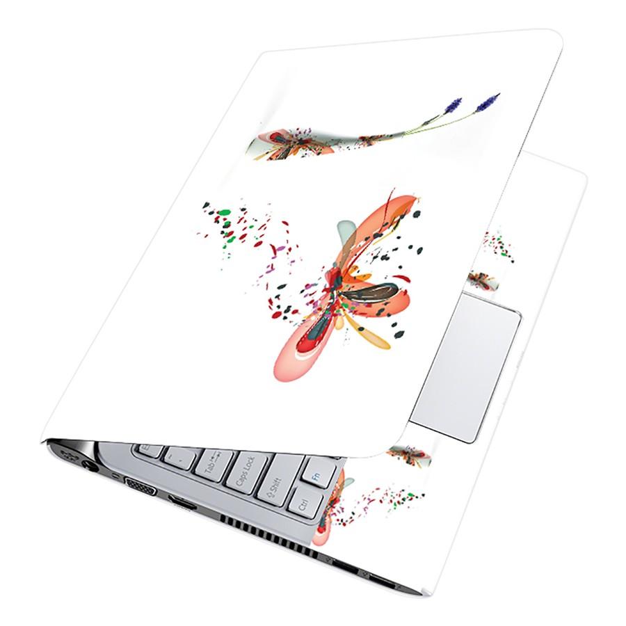 Miếng Dán Decal Dành Cho Laptop Mẫu Hoa Văn LTHV-112