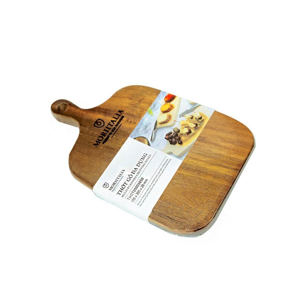 Thớt gỗ đa dụng Moriitalia 155x265x20mm
