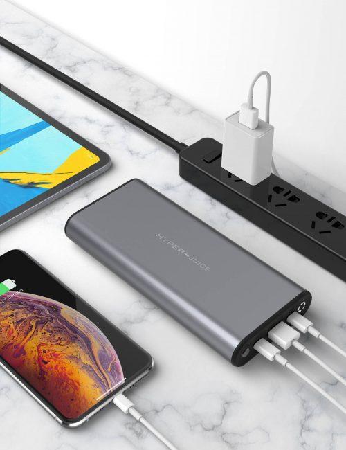 SẠC DỰ PHÒNG HYPERJUICE 27000 MAH 130W USB-C CHO MACBOOK, HJ307- CHÍNH HÃNG