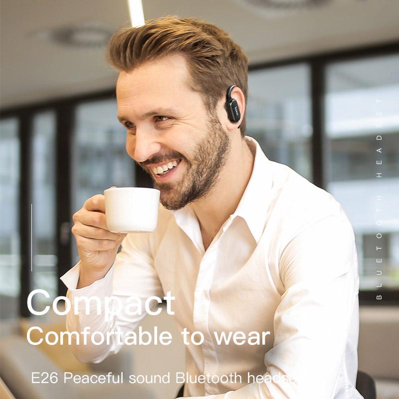 Tai nghe Bluetooth doanh nhân HOCO E26 - Hàng chính hãng