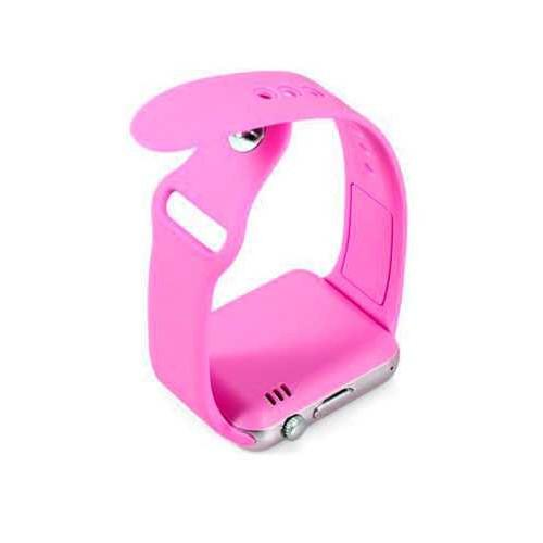 COMBO đồng hồ thông minh A1 hồng tặng kèm đèn led máy tính xinh xắn