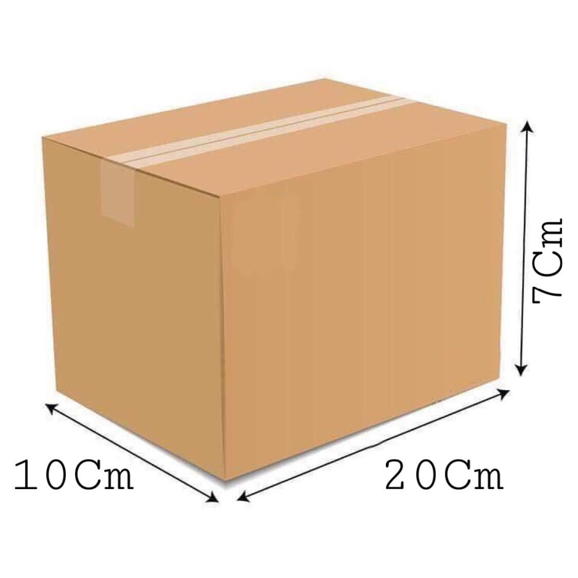 20x10x7 - Combo 20 thùng giấy gói hàng, thùng carton