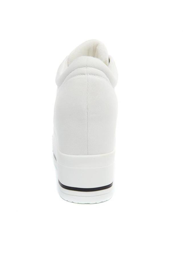 Giày bánh mì phong cách cá tính BM052T (Trắng)