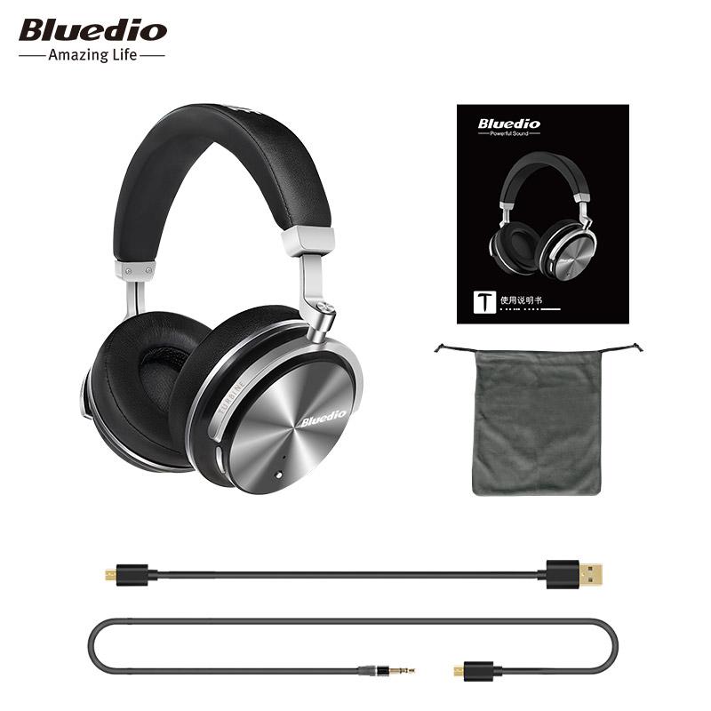 Tai nghe chống ồn Bluetooth Hifi Bluedio T4S (ANC) - Hàng Chính Hãng