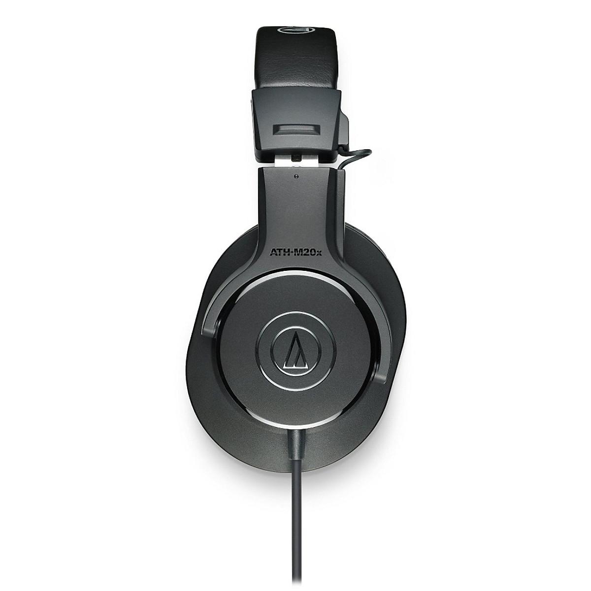 Tai nghe kiểm âm Audio-Technica ATH M20X cho phòng thu - hàng chính hãng