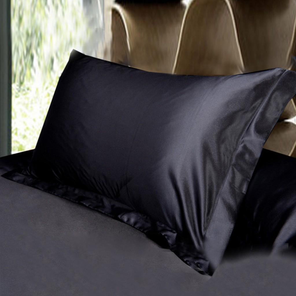Áo Gối Nằm Vải Phi Lụa Cao Cấp Mềm Mịn Mát Mẻ Thấm Hút Mồ Hôi Có Đầy Đủ Màu Sắc Kích Thước 40 x 60cm và 50 x 70cm