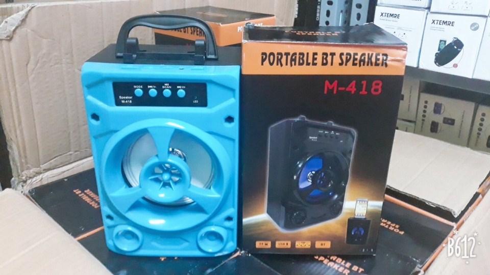 Loa Bluetooth xách tay 418