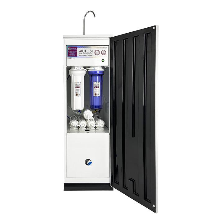 Máy lọc nước RO Mutosi MP-290S tủ đứng, 9 cấp lọc, tạo nước kiềm hydrogen, công suất 20L/h - Hàng chính hãng