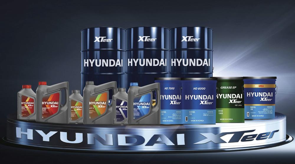 Dầu nhớt xe máy số Hyundai XTeer 4T 10W40 1 lít