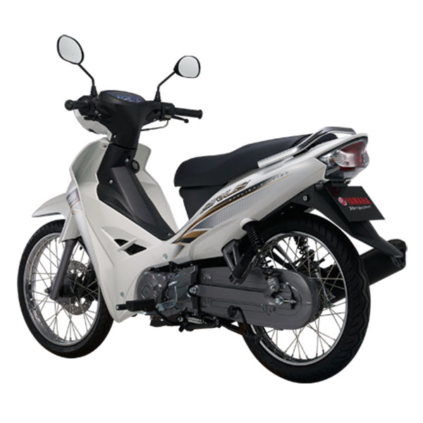 Xe Máy Yamaha Sirius Phanh Đĩa - Trắng