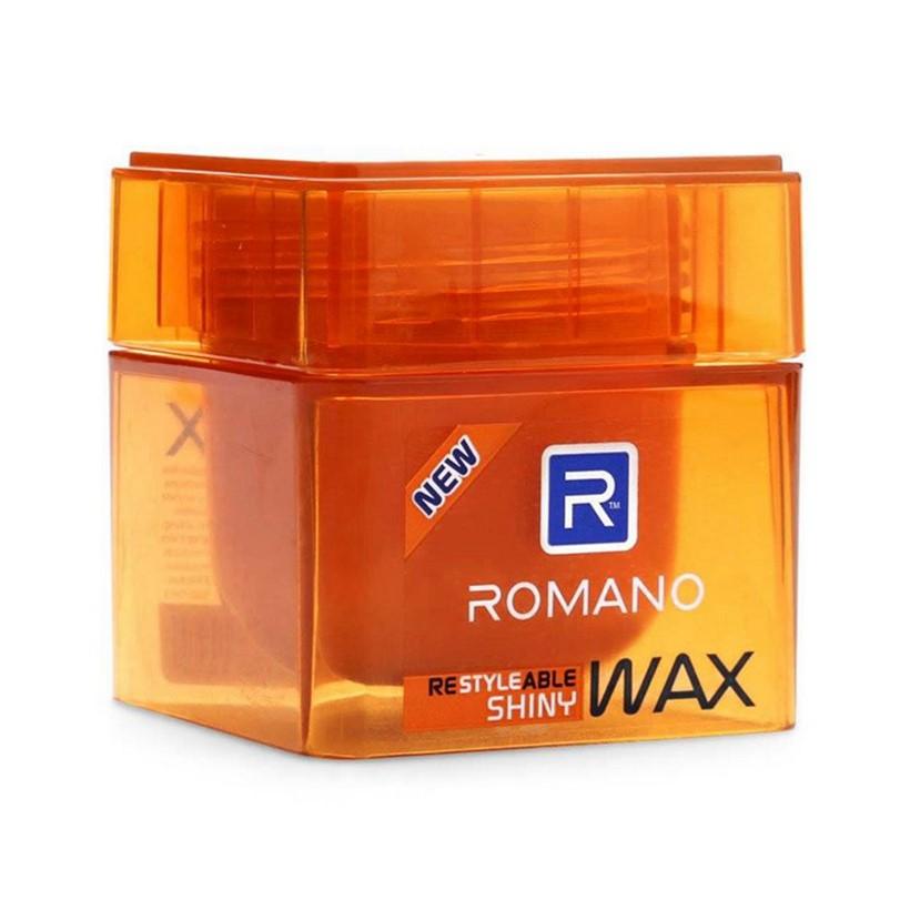 Sáp tạo kiểu tóc cứng bóng mượt Romano Shiny 68g